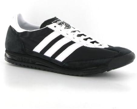adidas SL72 Black White Suede Mens
