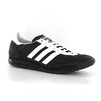 56e815a50996b Adidas SL72 Black White Suede Mens Trainers: Amazon.co.uk: Shoes & Bags