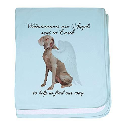 - CafePress Weimaraner Baby Blanket, Super Soft Newborn Swaddle