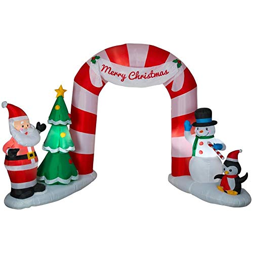 Holiday Living Lighted Archway Christmas Inflatable 7.91-ft x -