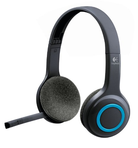 Logitech Over-The-Head Wireless Headset H600 (Certified Refurbished)