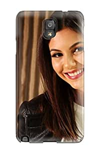 New WxPCwLW11415btlcx Victoria Justice Tpu Cover Case For Galaxy Note 3