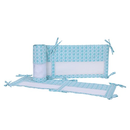 Disney Ariel Sea Princess Secure-Me Crib Liner, (1 Iron Convertible Crib)