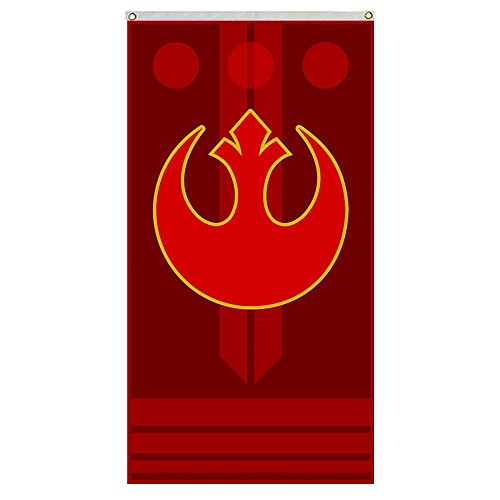 (Star Wars Rebel Alliance Flag 3x5 ft Banner outdoor Flag Flying flag 3x5ft banner)