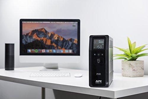 APC Sine Wave UPS Battery Protector, 1500VA, Pro