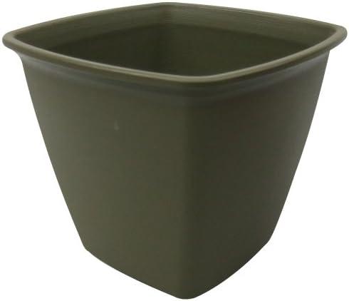 アイリスオーヤマ 鉢 ライズスクエアポット 360 ハーブグリーン