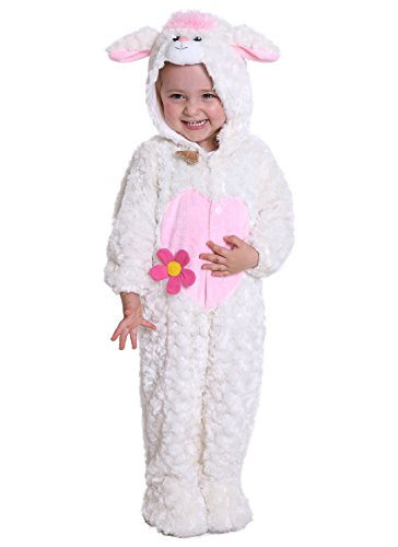 JFEELE Lamb Costume for Baby Boys and Girls - Perfect Cosplay & Theme Party Dress up Outfit Gift (24 to 36 (Infant Lamb Halloween Costume)