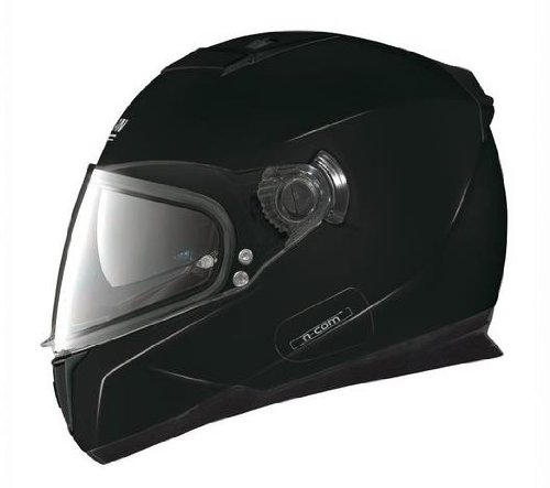 Nolan N86 Solid Colors Helmet (Black, XX-Large)