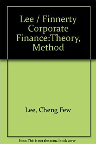 Finance Theory And Applications