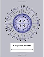 Composition Notebook: DNA Amino Acids Biology Code Genetics Codons Codes Table