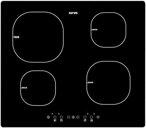 Ignis AKS 818//NE Built-in Zone induction hob Black hob