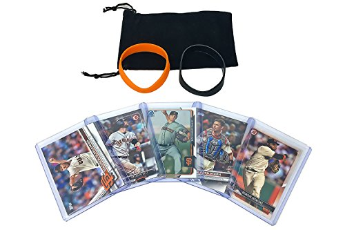 San Francisco Giants Baseball Cards: Buster Posey, Madison Bumgarner, Brandon Belt, Chris Stratton, Brandon...