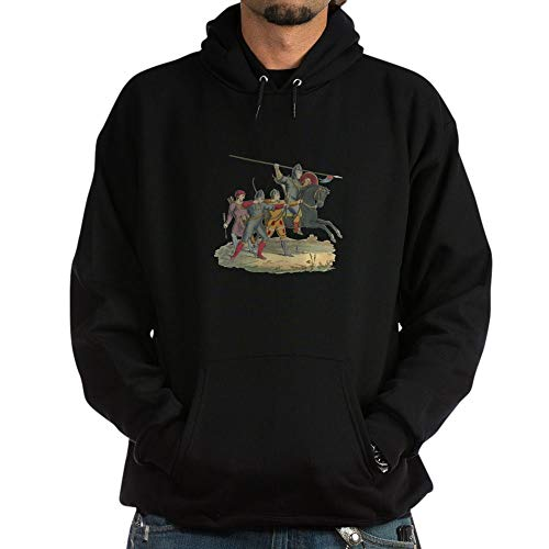 CafePress Norman Knight & Archers Pullover Hoodie, Classic & Comfortable Hooded Sweatshirt Black