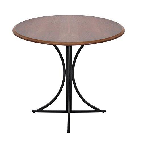 WOYBR DT WL+BK Wood, Metal Boro Dining Table by WOYBR (Image #1)