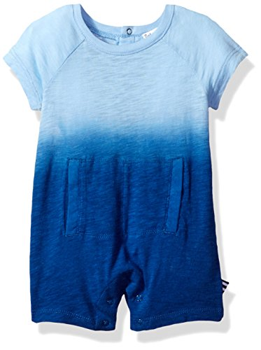 Splendid Baby Boys' Dip Dye Romper, Light Blue, 6-9M