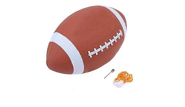 domybest compuesto fútbol goma suave AF9 Nº 9 Rugby Balón de ...