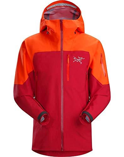 Arc'teryx Sabre LT Gore-Tex Ski Jacket Firecracker Mens Sz M