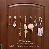 Neosmuk Magnetic Hooks, 50+LBS Large Opening Hook