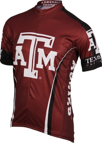 Adrenaline Promotions Texas A&M Cycling Jersey (Small)