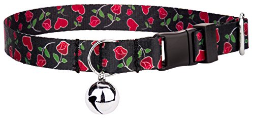 Country Brook Petz | Roses for My Valentine Cat Collar