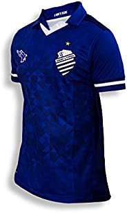Camisa Jogador Oficial Time Azulão CSA N°10 Uniforme 2 Cor Azul Ano 2019