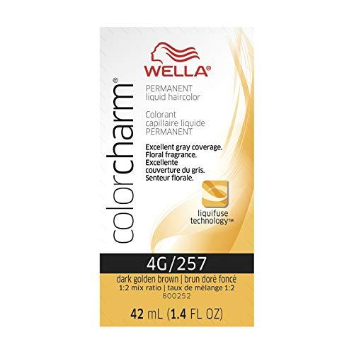 Wella Color Charm Liquid 4g Dark Gold Brown, 1.42 oz.