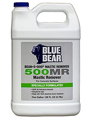 BLUE BEAR 500MR Mastic Remover For Concrete Gallon