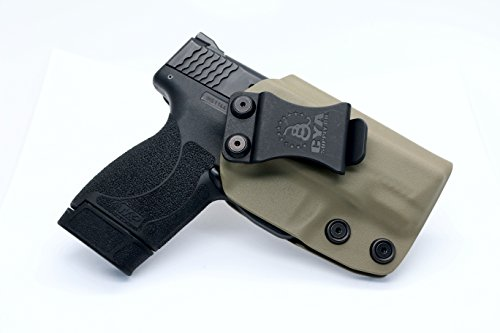 CYA Supply Co. IWB Holster Fits: Smith & Wesson M&P Shield .45 ACP - Veteran Owned Company - Made in USA - Inside Waistband Concealed Carry Holster