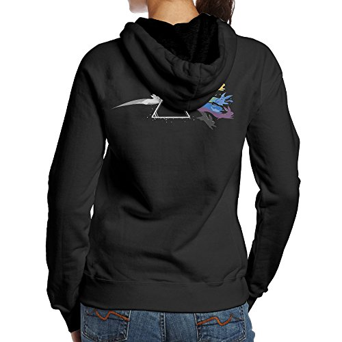 SBLPT Pink Floyd Eevee Evolution Gym Women's Hoodie XXL Black