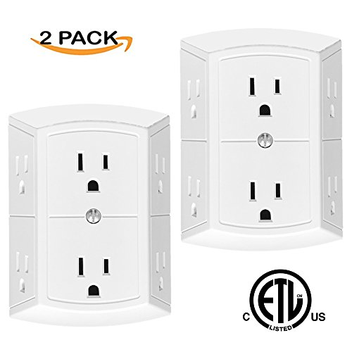 Adapter Spaced Outlets - 2