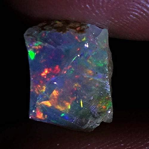Natural Ethiopian opal Oval Cabochon AAA Natural opal Welo Opal cabochon fire opal Ethiopian opal 2 pcs 9X7X4.5 MM 2.57 CTS Opal cabochon