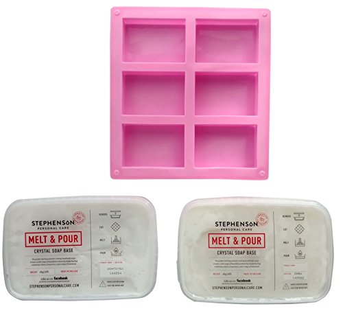 Melt and pour soap making bundle Starter Kit