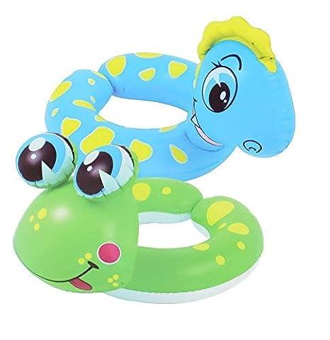 JILONG Agua Parte Anillo Animal en Dos Diferentes Designs Flotador (Animales: Amazon.es: Juguetes y juegos