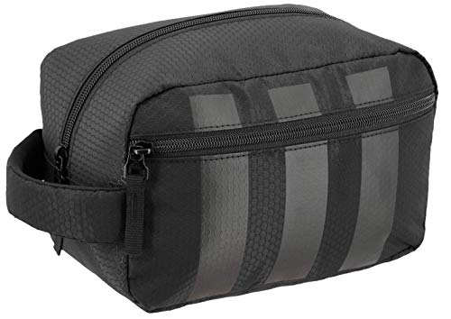 adidas Unisex Team Toiletry Kit, Black, ONE SIZE