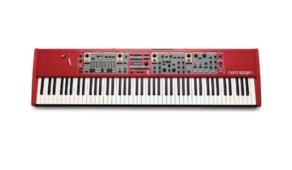 Clavia DMI AB Nord Stage 2 HA88 - Teclado MIDI (USB, 128,7 cm, 33,4 cm, 11,8 cm): Amazon.es: Instrumentos musicales