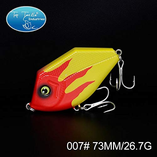 Jerk Bait Lifelike Fishing Lure Hard Plastic Pencil Lure Clown Fish 73MM/24.5G - (Color: 007)
