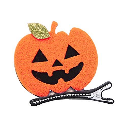 JAGENIE Halloween Accessories Kid Girl Hair Clip Cute Halloween Party Hairpin Women Cosplay Barrettes Dress Up -