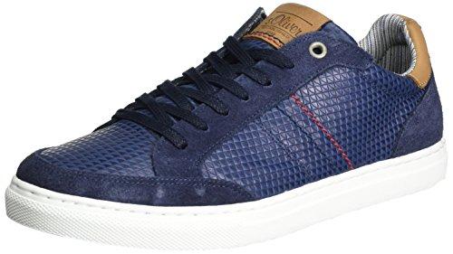 s.Oliver 13606, Zapatillas para Hombre Azul (NAVY 805)