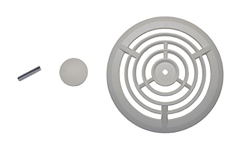 (NuTone S99111332AMZ Bathroom Fan Cover, White)