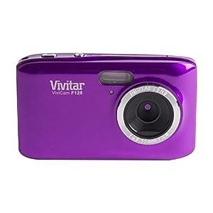 Vivitar HD 14.1MP Lightweight Portable 2.7 Inch Preview Screen Digital Camera, Purple