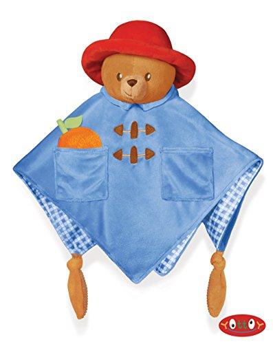 Paddington Bear Baby Cozy Blankie 13 inch - Baby Stuffed Animal by Yottoy (642) ()