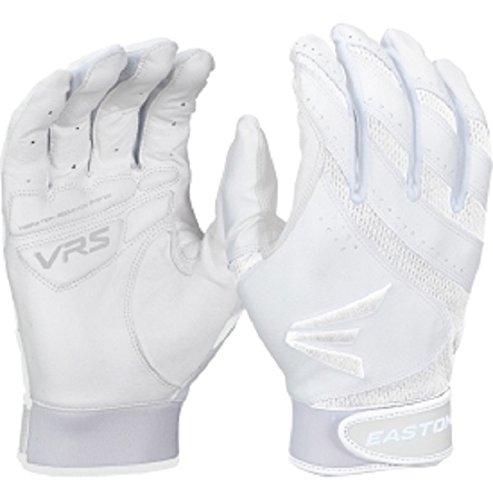 Easton HF VRS Fastpitch Batting Glove, White/White, X-Small