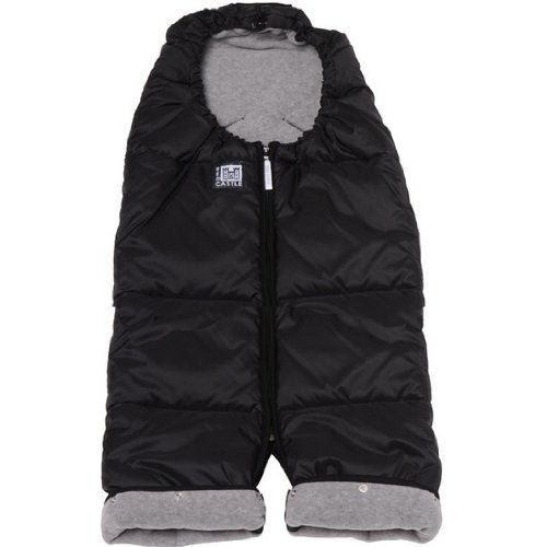 Red Castle Footmuff Combizip S2 Black/Light Grey by Red Castle