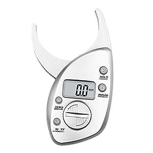 Compra wawer Digital Electrónica deslizante de grasa corporal grasa corporal Calibre Vernier (Monitor Medir Fitness Muscle Tester Tester Fitness Pérdida de ...