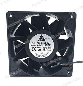 Ayazscmbs Compatible para Delta PFC1212DE 120 * 120 * 38mm para ...