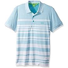 Hugo Boss Boss Green Men's Paule 8 Striped Short Sleeve Polo Shirt