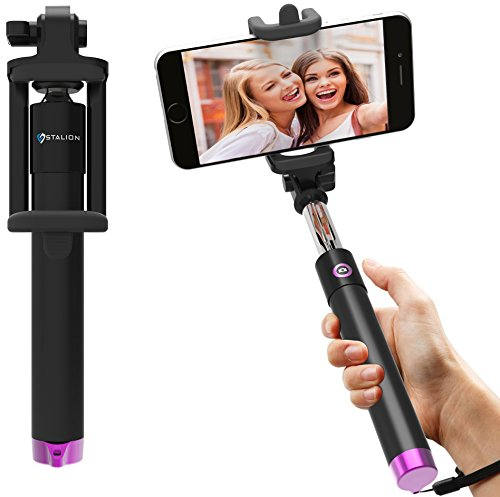 Selfie Stick Extendable Bluetooth Smartphones