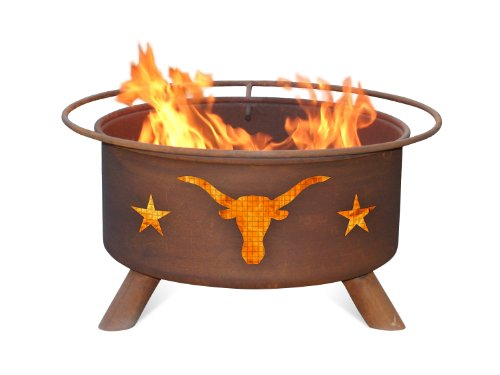 Patina F202 Texas Longhorn Fire (Patina Outdoor Fire Pit)