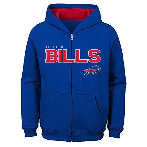 Outerstuff NFL Little NFL Kids & Youth Boys Stated Full Zip Fleece Hoodie, Multi, Kids Medium(5-6) Big Kids Multi Apparel