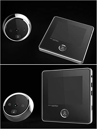 3 Inch No Disturbing Digital Door Viewer Security Cameras Door Cat Eye Doorbell with Night Vision by Asunflower (Image #3)